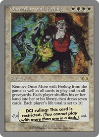Once More with Feeling, Magic: The Gathering, Unglued