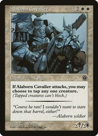 Alaborn Cavalier, Magic: The Gathering, Portal Second Age