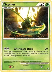 Scyther (36), Pokemon, Undaunted