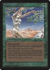 Shanodin Dryads, Magic: The Gathering, Beta Edition