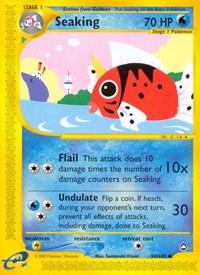 Seaking, Pokemon, Aquapolis