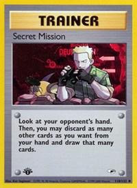 Secret Mission, Pokemon, Gym Heroes
