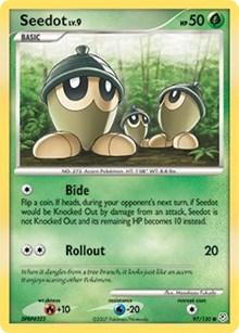 Seedot, Pokemon, Diamond and Pearl