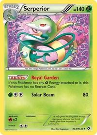 Serperior, Pokemon, Legendary Treasures: Radiant Collection