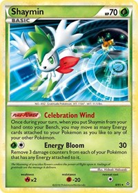 Shaymin, Pokemon, Unleashed