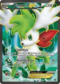 FAST! PTCGO, Digital Card FA Shaymin EX FULL ART 94//99 for Pokemon TCG Online