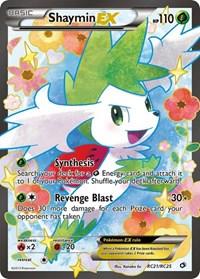 Shaymin EX (Full Art), Pokemon, Legendary Treasures: Radiant Collection
