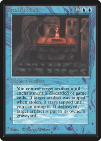 Steal Artifact, Magic: The Gathering, Beta Edition