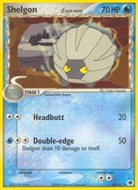 Shelgon (Delta Species), Pokemon, Dragon Frontiers