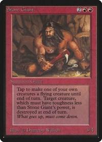 Stone Giant, Magic: The Gathering, Beta Edition