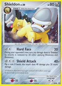 Shieldon, Pokemon, Diamond and Pearl Promos