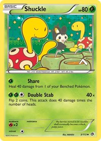 Shuckle, Pokemon, Legendary Treasures