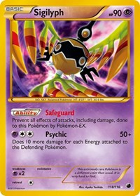 Sigilyph, Pokemon, Plasma Freeze