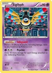 Sigilyph, Pokemon, Legendary Treasures