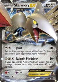 Skarmory EX, Pokemon, XY Base Set