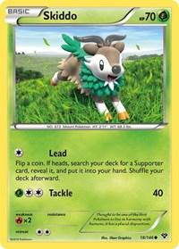 Skiddo, Pokemon, XY Base Set