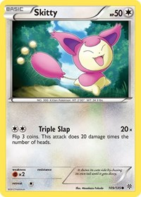 Skitty, Pokemon, Plasma Storm