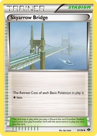 Skyarrow Bridge, Pokemon, Next Destinies