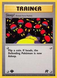 Sleep!, Pokemon, Team Rocket