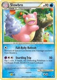 Slowbro, Pokemon, Undaunted