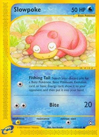 Slowpoke, Pokemon, Aquapolis