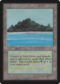 Tropical Island, Magic: The Gathering, Beta Edition