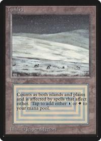 Tundra, Magic: The Gathering, Beta Edition