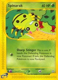 Spinarak (111), Pokemon, Aquapolis