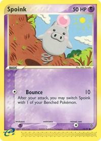 Spoink (73), Pokemon, Dragon