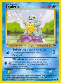 Squirtle, Pokemon, Legendary Collection