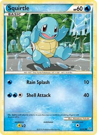 Squirtle, Pokemon, Unleashed