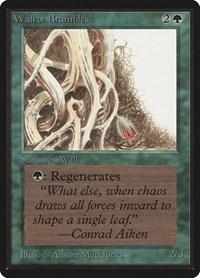 Wall of Brambles, Magic: The Gathering, Beta Edition