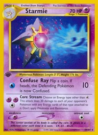 Starmie, Pokemon, Neo Revelation