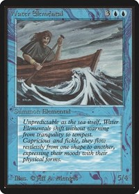 Water Elemental, Magic, Beta Edition