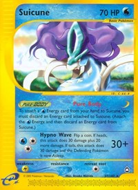 Suicune, Pokemon, Aquapolis