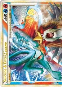 Suicune & Entei Legend (Top), Pokemon, Unleashed