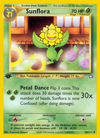 Sunflora, Pokemon, Neo Genesis