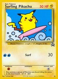 Surfing Pikachu, Pokemon, WoTC Promo