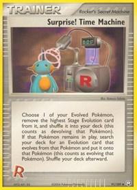 Surprise! Time Machine, Pokemon, Team Rocket Returns