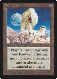Winter Orb, Magic: The Gathering, Beta Edition