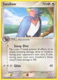 Swellow, Pokemon, Delta Species