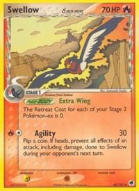 Swellow (Delta Species), Pokemon, Dragon Frontiers