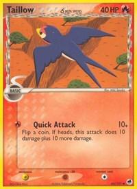 Taillow (Delta Species), Pokemon, Dragon Frontiers