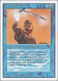 Animate Artifact, Magic: The Gathering, Unlimited Edition