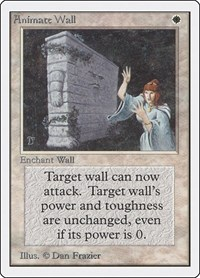 Animate Wall, Magic: The Gathering, Unlimited Edition