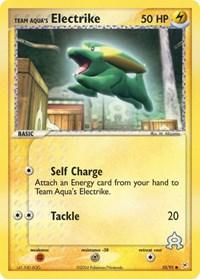 Team Aqua's Electrike (53), Pokemon, Team Magma vs Team Aqua