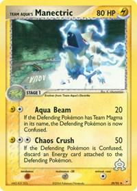 Team Aqua's Manectric (29), Pokemon, Team Magma vs Team Aqua