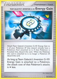 Team Galactic's Invention G-101 Energy Gain, Pokemon, Platinum