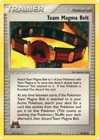 Team Magma Belt, Pokemon, Team Magma vs Team Aqua