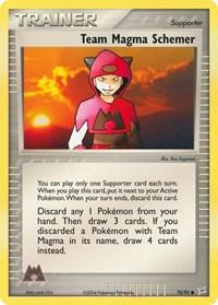 Team Magma Schemer, Pokemon, Team Magma vs Team Aqua